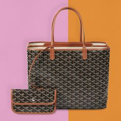 The Goyard Isabelle Bag is like two Saint-Louis Bag in one. Louis Bag, St Louis, Goyard Bag, Tote Bag, Bags, Amazing, Handbags, Totes, Bag