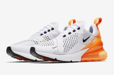 This Nike Air Max 270 With Orange Heels Is Dropping Soon
