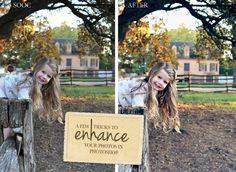 Dear Lillie: A Little Photo Enhancing Tutorial