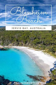Blenheim beach is an idyllic gem hidden in Jervis Bay, Australia. This is one beach which has 'tropical vibes' written all over it and is in my opinion the best place in Jervis Bay for snorkelling off the beach. This white sandy beach has a secluded feel as it's surrounded by dense bush land. Check our full review here. #beaches #australia #jervisbay #jervisbay #snorkelling Beach Trip Packing, Travel Destinations Beach, Beach Travel, Europe Beaches, Snorkelling, Beaches In The World, Tropical Vibes, Destin Beach, Most Beautiful Beaches