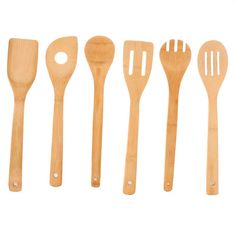 ECO Bamboo Cooking Utensils 6Pcs/set - Elegance for a BARGAIN!