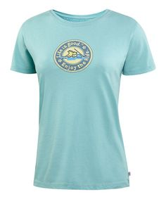 Take a look at this Tide Blue Cruisin' Heritage Creamy Tee - Women by Life is good® on #zulily today!