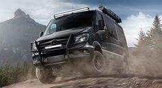 Build and Equip Your Mercedes-Benz Sprinter 4x4 Passenger Van –…
