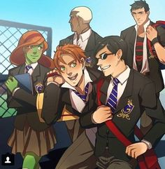 Young justice!!