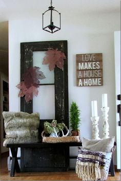 Decorating a small Entryway or Foyer         |          Rustic & Refined