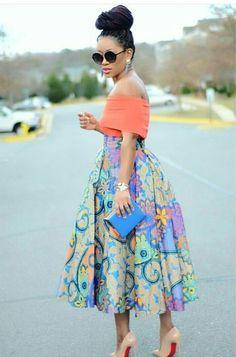 African Attire, African Wear, African Women, African Dress, African Fashion Skirts, African Inspired Fashion, African Print Fashion, Tea Party Outfits, African Print Dress Designs