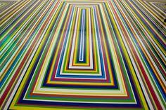 PVC vinyl tape floor