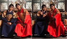 FIRST LOOK: Seo In Guk and Shin Sung Rok's The King's Face
