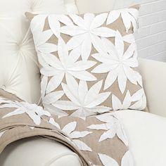 Botanical Cushion & Runner