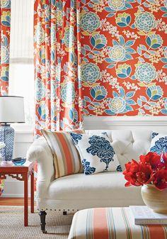 Thibaut wallcovering & fabric