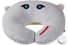 Poduszka do karmienia szumiąca SZUMISIE szara Pillows, Cushions, Pillow Forms, Cushion, Scatter Cushions
