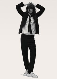 Charlotte Gainsbourg styled by Nicola Knels and photographed by Stefan Heinrichs for Vogue Germany August 2014