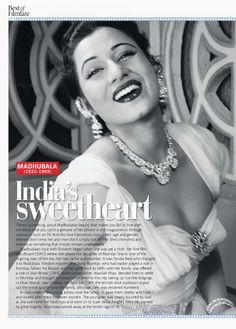 Oh that smile! Madhubala. #Bollywood