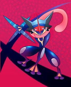 Beautiful ♡ Greninja Ash ^.^ ♡ I give good credit to whoever made this
