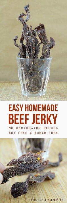 Pepper beef jerkey recipes