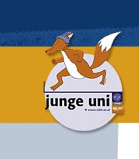 Logo Junge Uni Innsbruck, Disney Characters, Fictional Characters, Logo, School, Self, Science, Studying, Guys