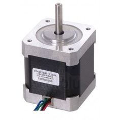 This NEMA hybrid stepping motor can be used as a unipolar or bipolar stepper motor and has a step angle steps/revolution). Each phase draws A at 4 V, allowing for a holding torque of kg-cm oz-in). Arduino, Cnc Maschine, Thing 1, Stepper Motor, Bipolar, 2 In, Ebay, Electrical Equipment, Cable