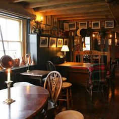 Bric a brac, best way to make a cosy pub