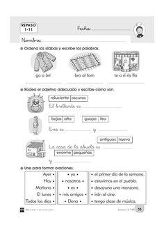 ISSUU - Cuaderno repaso 2º primaria by Rocio Blanco
