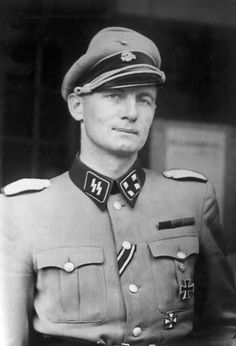 Danish Waffen-SS Christian Frederik von Schalburg (April 15, 1906 - June 2, 1942). Schalburg was a Danish army officer and the second commander of the Waffen-SS Free Corps Denmark. He was awarded the Iron Cross of 1st and 2nd class while serving in the Waffen-SS 'Division Wiking'. He died fighting communism on the eastern front. Loved and respected by his men, one of his soldier's even sacrificed his own life to retrieve Schalburg's corpse from the battlefield.