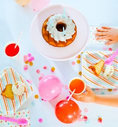 Color Palette Inspired Parties | Dreamsicle  Color Story | The Sweet Lulu Blog