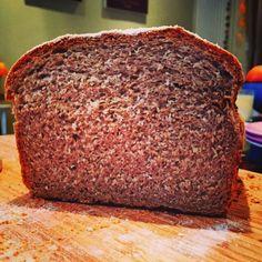 Homemade rye & spelt bread turned out nice #homebaking #bread #yum