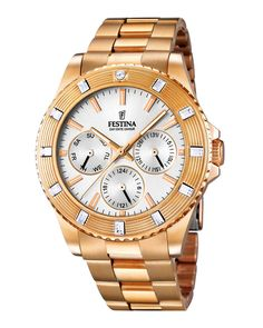 Ρολόι Festina Ladies Crystals Multifunction F16789-1