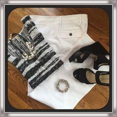 Cotton Dress Pant White Cotton Dress Pant. ❌14 Petite❌ Apostrophe Pants