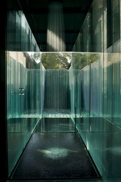 Les Cols Pavellons, Olot, Spain by RCR Arquitectes Water Architecture, Interior Architecture, Contemporary Home Decor, Modern Interior Design, Contemporary Apartment, Therme Vals, Casa Patio, Mid Century Modern Lighting, Chula