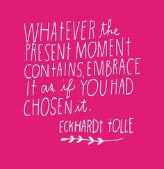 Eckhardt Tolle quote || Lisa Congdon