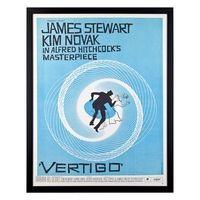 John Lewis Vertigo Movie Poster Framed Print, 83 x 46.5cm