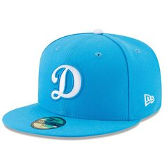 new styles 1d164 ba1f5 Los Angeles Dodgers New Era Youth 2017 Players Weekend 59FIFTY Fitted Hat -  Blue