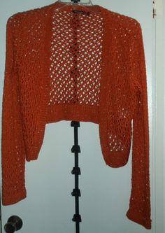 Womans XL Daisy Fuentes Moda Cardigan  US $3.99