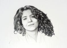 Mónica, pencil