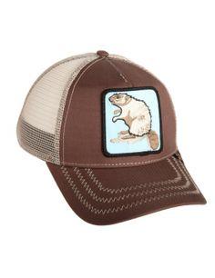 a9e5cdaa023b9 Goorin Bros. Beaver Trucker cap Dad Hats, Travel Gifts, Funny Animal Jokes,