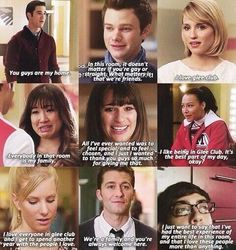 Glee is family