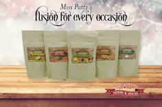 Miss Patty's™ Fusion for Every Occasion  GIVE A GIFT THAT WILL IMPRESS WITH MISS PATTY'S FUSION FOR EVERY OCCASION!!! 50% OFF DURING MISS PATTY'S BLACK FRIDAY SPECIALS! Miss Patty's Fusion for Every Occasion arrives in a FREE gift box with a personalized gift card!  Enter Promo Code THANKFUL at checkout! Offer Expires Monday, 11/30 at 11:59 pm!