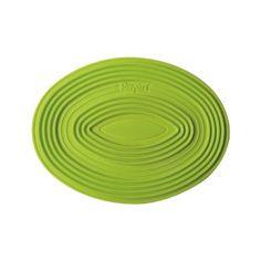 Descanso de silicone oval Rayen verde 27 x 20 cm - Utensílios Domésticos / Utilplast - Utilplast