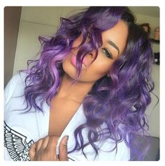 12 14 16 Purple ombre Brazilian Virgin Hair Weft/Weave/Extension.Like this look? Get it at only $112.Free shipping to USA.