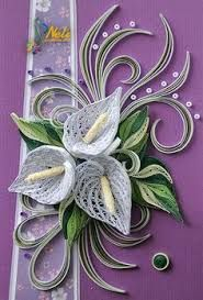 Image result for quilling lily of the valley
