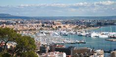 Panorámica de la ciudad de Palma de Mallorca