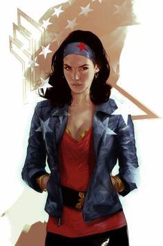 Wonder Woman by Ben Oliver