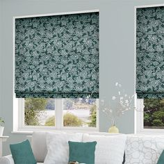 Washwood Teal Roman Blind Roman Shades, Curtains, Home Decor, Blinds, Decoration Home, Room Decor, Draping, Home Interior Design