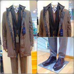 f038dde6735c Pal Zileri Coat Canali Jacket Barba Napoli Knitwear Giorgio Armani Shirt  Canali Trouser Corneliani Shoes
