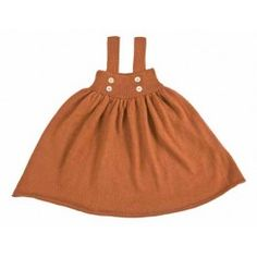 Waddler Baby Dress Burnt Orange