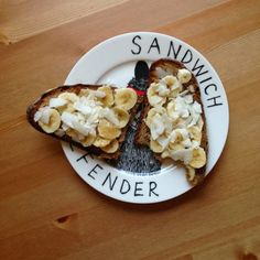 London Proper: Almond Butter and Banana Toast