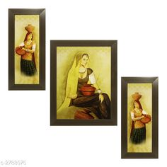 Religious Idols & Paintings Trendy Personal Home Painting Material: Synthetic Size : Frame 1 (L x W) - 6 in x 13 in          Frame 2 (L x W) - 10.2 in x 13 in          Frame 3 (L x W) - 6 in x 13 in Description: It Has 3 Pieces Of Frames With Painting (Glass Is Not Included) Work: Printed Country of Origin: India Sizes Available: Free Size   Catalog Rating: ★4 (346)  Catalog Name: Trendy Personal Home Paintings Vol 1 CatalogID_378367 C128-SC1316 Code: 513-2788075-756