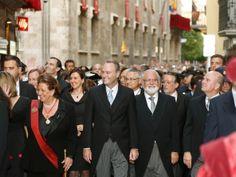 Participant en els actes de la festivitat de la Mare de Déu dels Desemparats