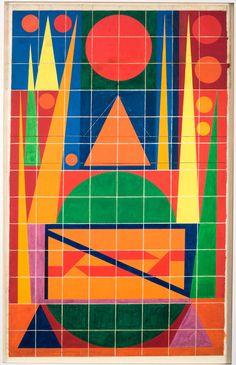 Auguste HERBIN Joie,1957- Musée Matisse
