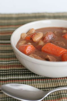 Slow Cooker Tuscan Beef Stew - Taste and Tell